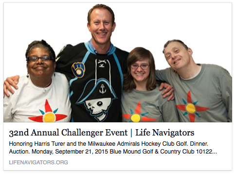 32nd Annual Challenger Golf Event benefiting Life Navigators