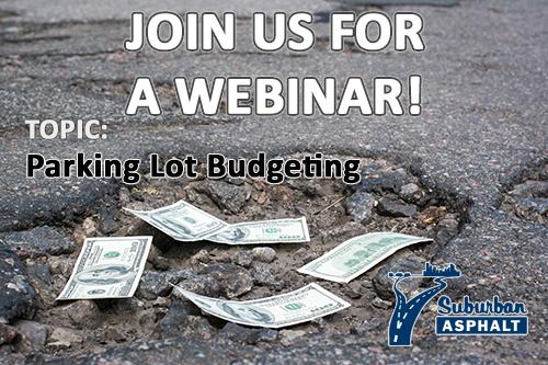 Parking lot budget webinar